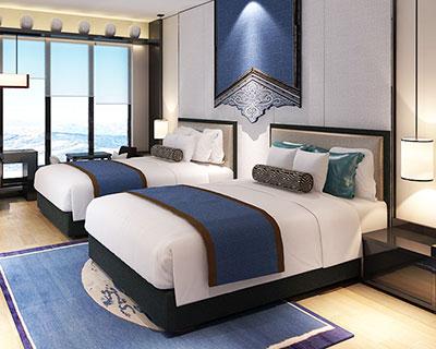 酒店定制床_型号HT0645