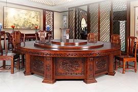 豪华酒店餐厅桌椅