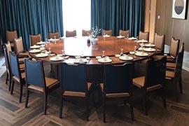 酒店餐桌椅款式