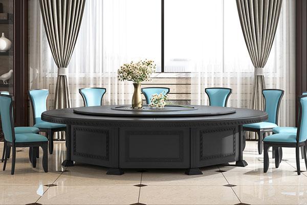 酒店餐桌椅图片