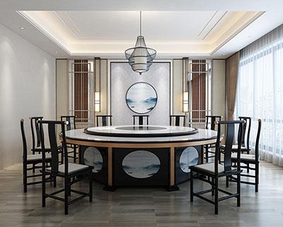 酒店用餐桌餐椅_HT068