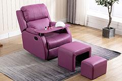 皮艺足疗沙发怎么保养?
