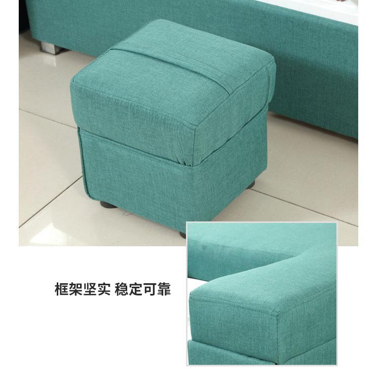 足疗沙发床配套技师凳图片