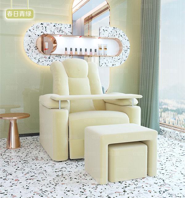 足浴店按摩沙发图片